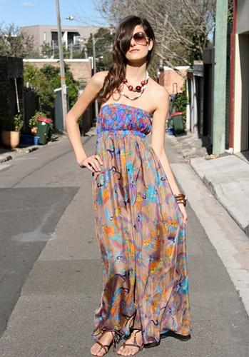 strapless honey beau outdoor dress by goshcelebrit…