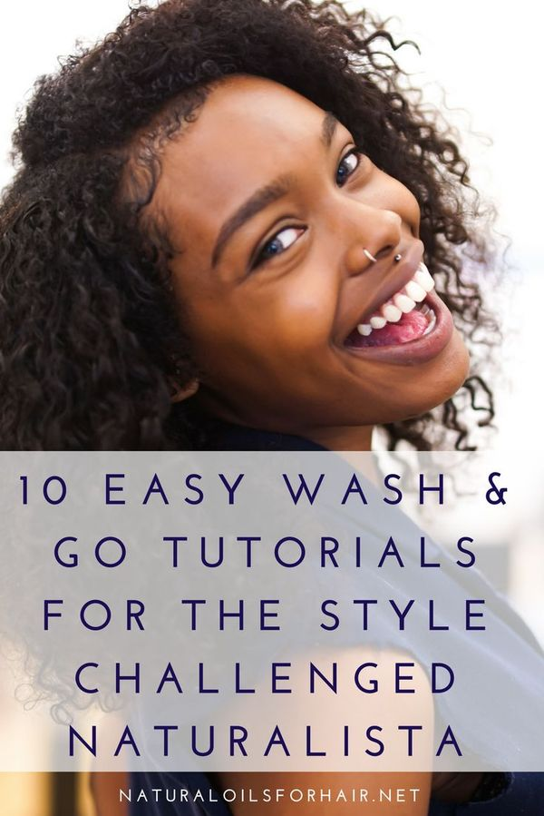 When I went natural, one of the last things I was interested i…