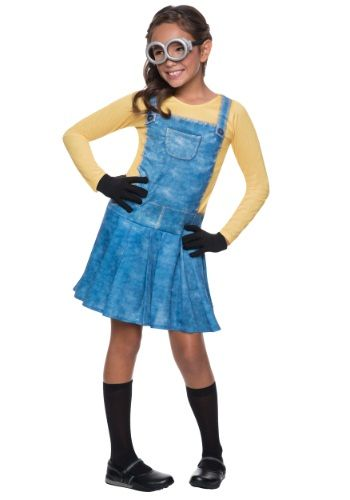 #halloween #halloweencostumes Child Female Minion Costume: As much fun as being a criminal mastermin…