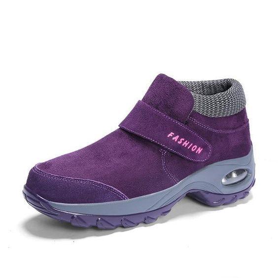 Purple short boots as sneakers Original 2021