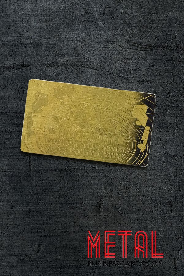 Get conversations started in 2021 with metal business cards that will wow them!