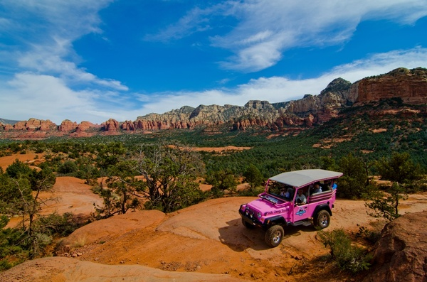 Pink Jeep To…