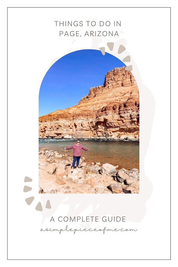 Sharing the top things to do in Page, Arizona during Covid and while the lower and upper Antelope Canyons are closed. However, there is a way to get to the lower Antelope Canyon! Visit www.asimplepieceofme.com for all the details on this trip. #pagearizona #travel #traveltips #arizona #travelaroundtheworld #arizonatravel #roadtrip #travelgram #traveling