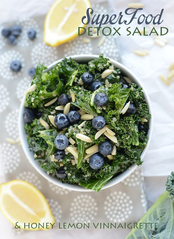 Super Food Detox Salad ~ gluten free recipe ~ healthy dinner