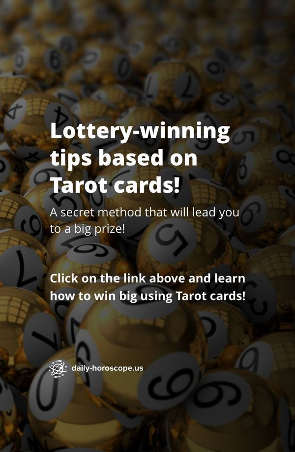 A deck of Tarot cards appears to be a powerful tool when it comes to predicting your future. 💸 Moreover, there is a lot of evidence that you can use Tarot cards to find winning lottery numbers. Find out how – tap the link in the post! #dailyhoroscope #todayhoroscope #horoscope #zodiacsigns #pisces #capricorn #zodiac #horoscopeposts #earthsigns #astrologypost #starsigns #stars #aries #taurus #gemini #cancer #leo #virgo #libra #scorpio #sagittarius #aquarius #lottery #tarot