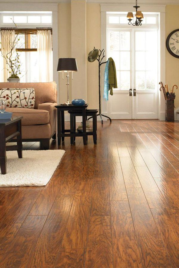 Pergo XP laminate flooring has an ultra-realistic wood grain finish, along with a protective finish, for double the wear and double the durability. Its easy to install, too.