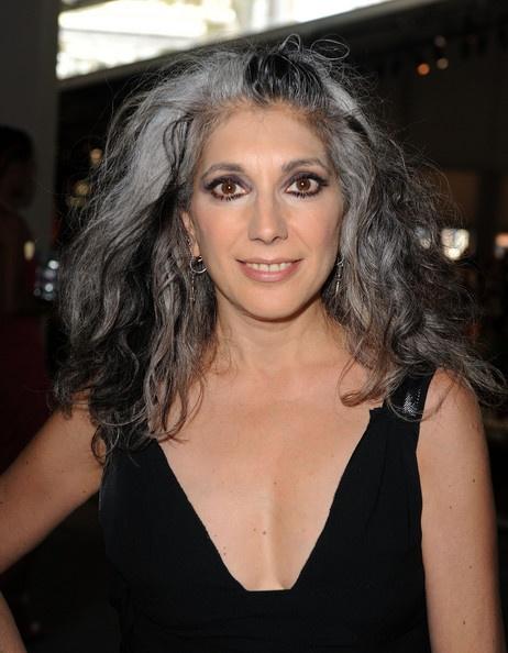 Commit error. Beautiful gray hair milf