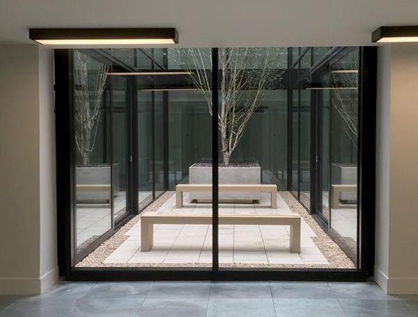 Bespoke planter from benchmark street furniture