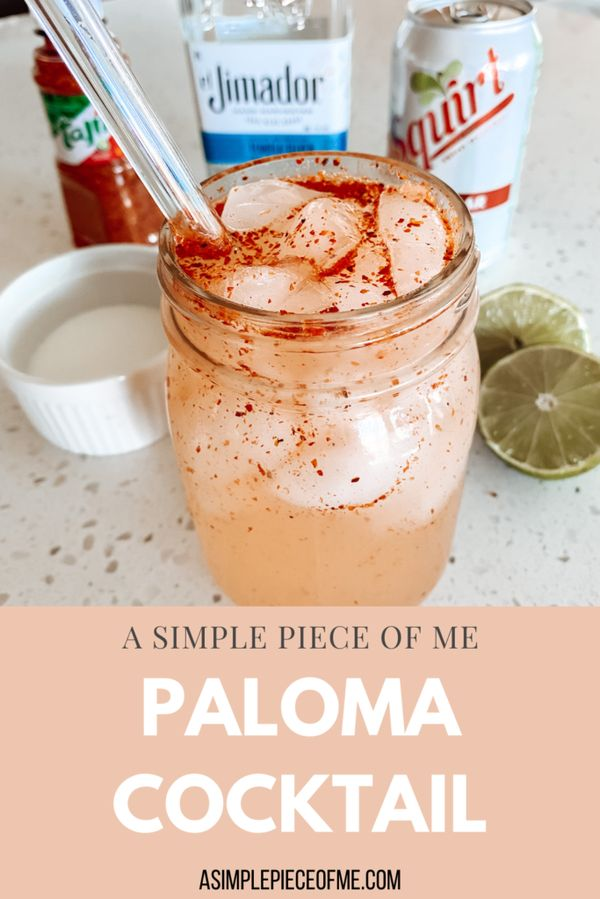 My new favorite cocktail drink! If you like Tajin, this drink if for you. Visit www.asimplepieceofme.com for all the details and drink recipe! #alcohol #cocktail #alcoholdrinks #alcoholaesthetic #cocktailrecipes #cocktails #drinksalcoholrecipe #alcoholrecipe #drinkswithtequila #drinkrecipes #drinkrecipesalcohol #lowcarbbeverage #ketodrinks #keto #lowcarb #ketoalcoholdrinks #ketodrinkrecipes #lowcarbdrinkrecipes #lowcarbdrinks