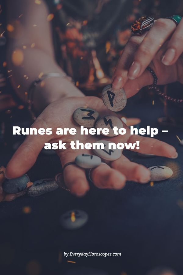Should I do this or that? How will it influence my future? How will this or that situation evolve? ❓ Cast your runes and find out - just click on the link! #dailyhoroscope #todayhoroscope #horoscope #zodiacsigns #pisces #capricorn #zodiac #horoscopeposts #earthsigns #astrologypost #starsigns #stars #astrologysign #astrologyreadings #aries #taurus #gemini #cancer #leo #virgo #libra #scorpio #sagittarius #aquarius #runes #prediction
