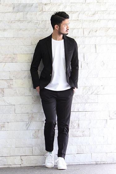 シャキッと綺麗なブラック&ホワイト
