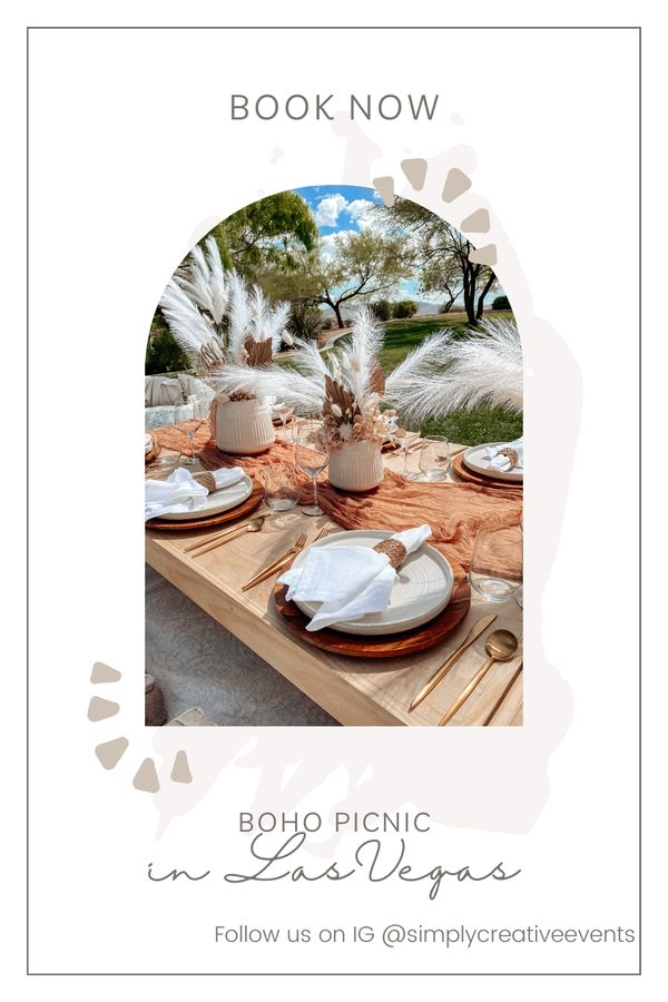 If you are looking for a luxury boho picnic in Las Vegas, NV look no further and book with Simply Creative Events. Follow us on Instagram @simplycreativeevents or email us at thesimplycreativeevent@gmail.com for pricing. #boho #picnic #event #birthdaypicnic #birthday #bohopicnic #lasvegas #lasvegasevents #eventplanner #eventstylist #girlsbirthday #picnicideas