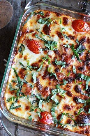 quinoa lasagna (rolls of the tongue, doesn't it)