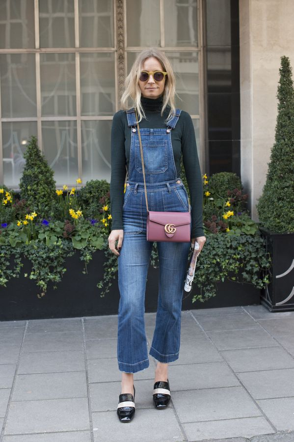 The Best Denim Street Style Outfits   StyleCaster