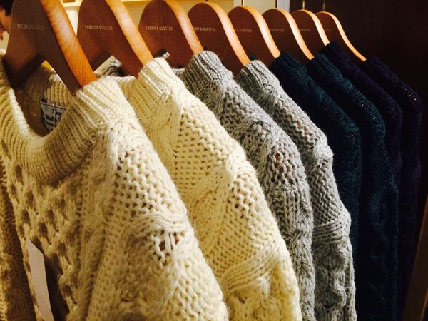 セーターの干し方!伸びない・縮まないは未然に防ぐ!