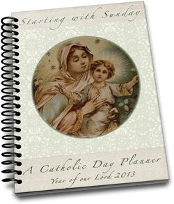 Starting With Sunday - A Catholic Day Planner- Com… Image