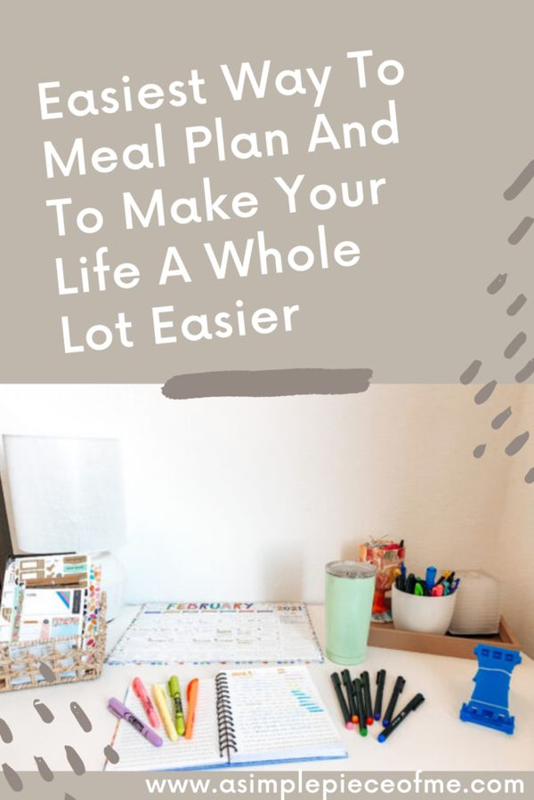Sharing a few easy steps to make your life a little easy when it comes to meal planning. Visit www.asimplepieceofme.com to read more. #recipes #mealplanaddict #mealplanrecipesforweightloss #mealplanning #prep #meal #meal #mealprepping #mealprepideas #howtomealplan #howto