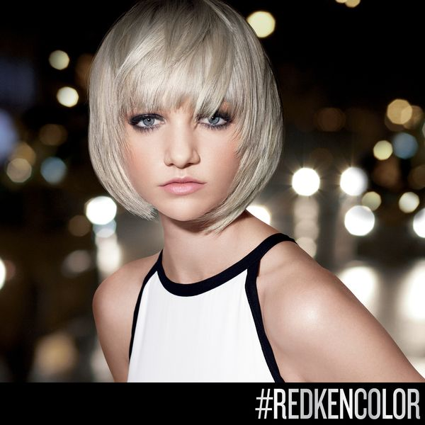 "This ultra-pale blonde is ""light"" on-trend! Perfec…"
