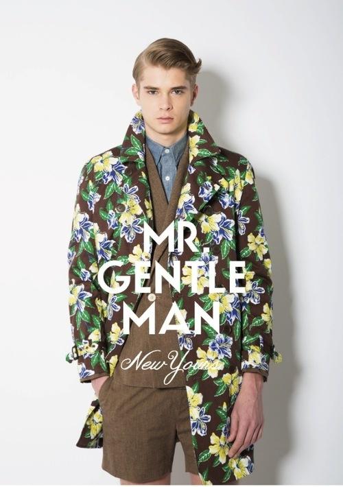 ミスタージェントルマン、東京ファッション界のケミストリーがここに!