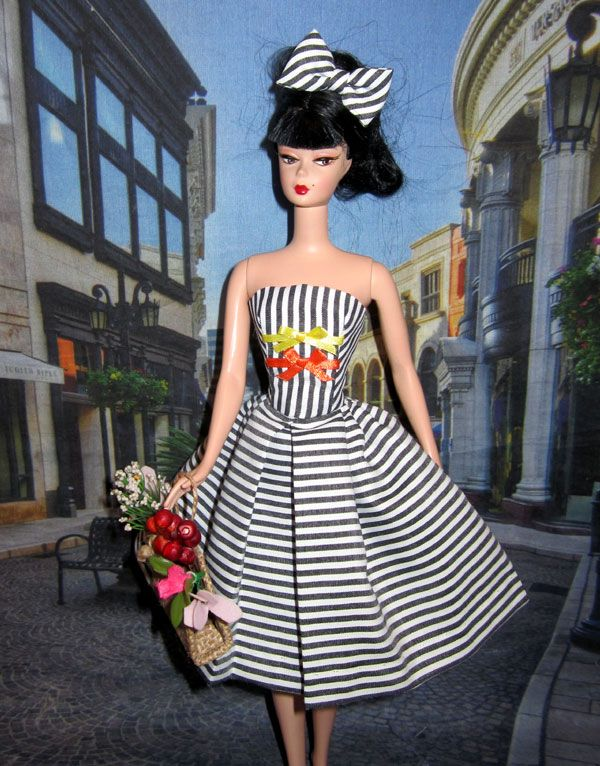 Cotton Casual Red Moon Barbie