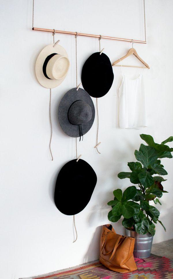 画像 しまわず見せる!帽子のおしゃれな収納アイデア Naver まとめ