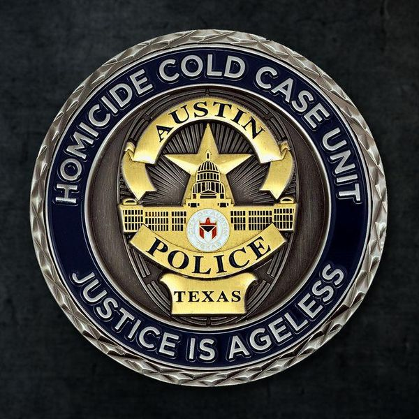 The Austin Texas Homicide Unit Challenge Coin we created last year comes with a sandblasted recessed metal finish and a cross-cut edge. With a two-tone metal and 3d mold upgrade, this coin sure is fit for brilliance and ageless justice! Interested in making your coin a reality? Then call our Austin office at 877-514-8484 or fill out our quote form.