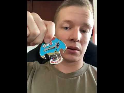Custom Challenge Coin Review - Lt. Dan