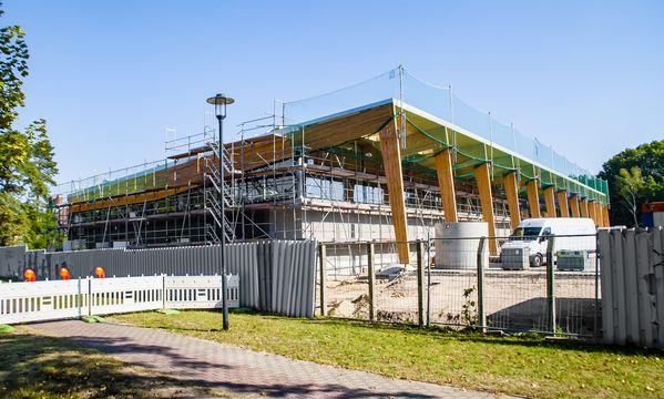 Basdorf, Baustelle Rewe 03 | 27. September 2015