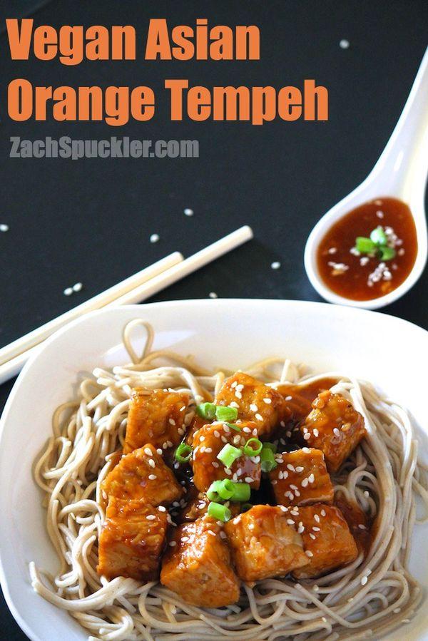 Vegan Asian Orange Tempeh | http://zachspuckler.com/vegan-asian-orange-tempeh/