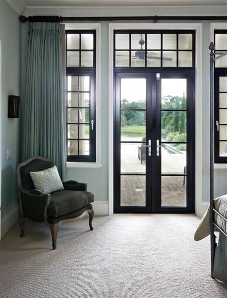doors to patio