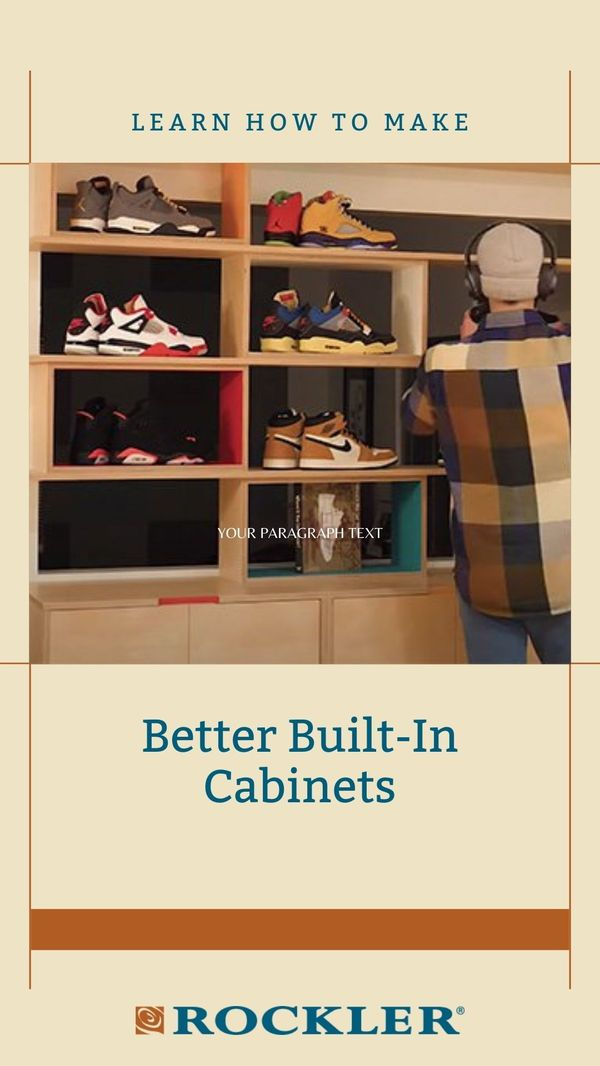 Chris Salomone was never able to fully utilize his living room, due to the awkward shape of the room. This project focuses on making custom built-in cabinets and shelving to handle the space, which will hopefully make it look and function more nicely. #woodworking #cabinets #howto #diy