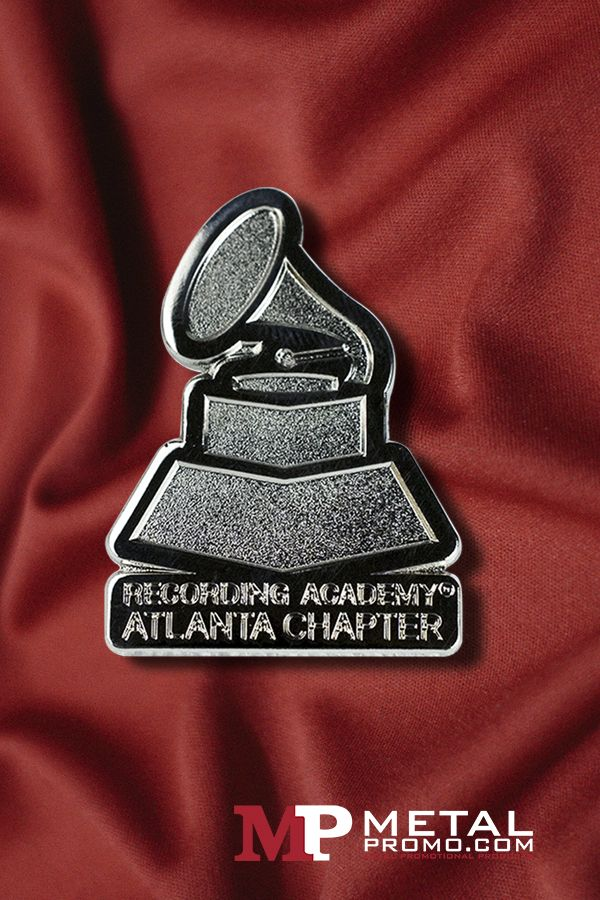 Were loving this pin created for the Atlanta Chapter of the Recording Academy!  Looking for something to bring your team together? Check out more of our company pins.