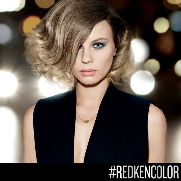 Try this pearlescent blonde #ombre for shimmering…