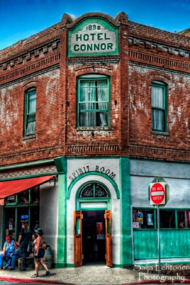 Spirit Room, Jerome, AZ This is a really cool old…