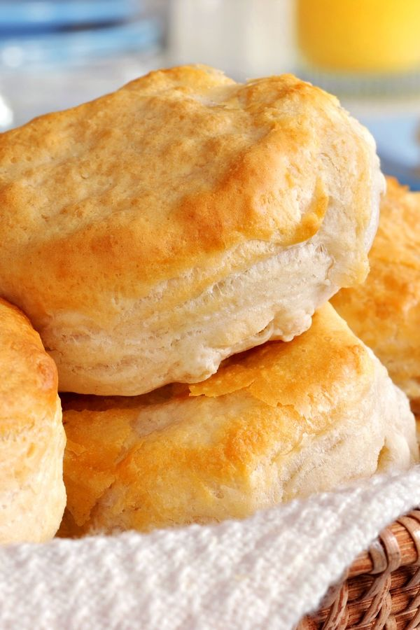 Kentucky Buttermilk Biscuits Recipe ... Love homemade biscuits. Worth the effort...worth the wait!