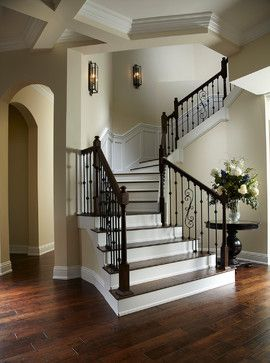 Mc Gregor Blvd - traditional - staircase - tampa - Wyman Stokes Builder LLC