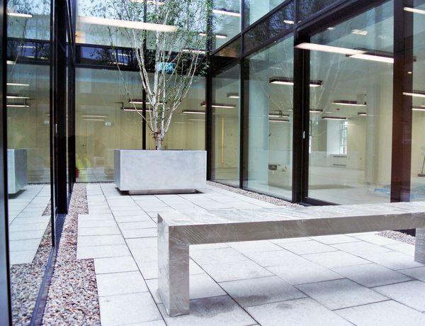 street furniture bespoke planter - from benchmark
