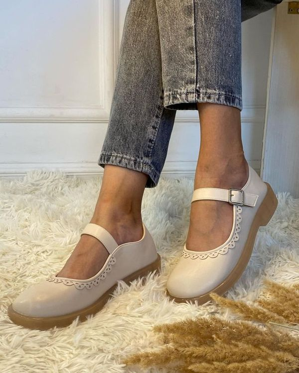 Comfortable shoes for everyday wear. Ivory will match any outfit