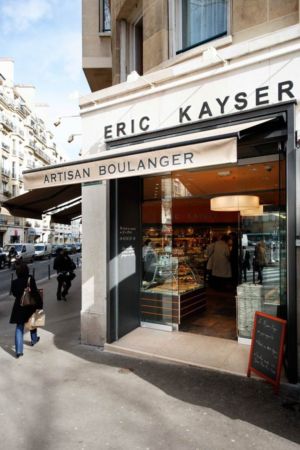 Eric Kayser boulangerie. Apparently they make the best croissants and baguettes!