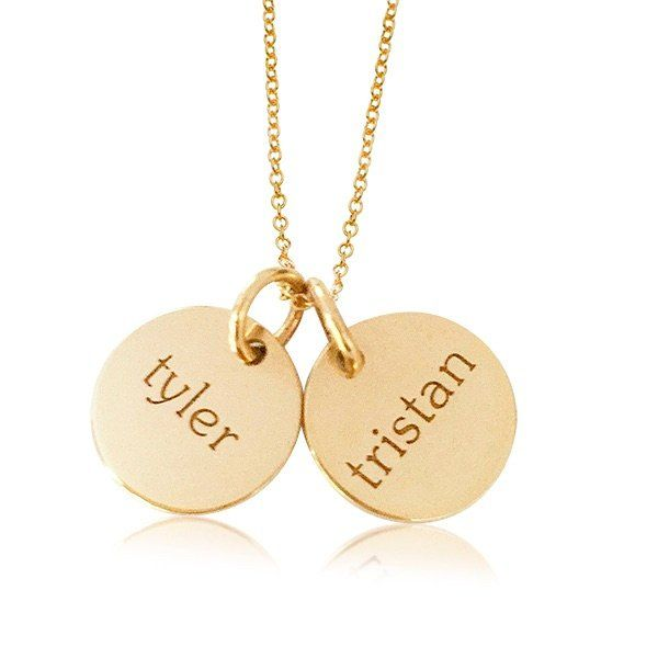Mothers Day gift guide - custom name necklace