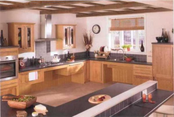 kitchen design for handicapped wheelchair accessible kitchens photos 984
