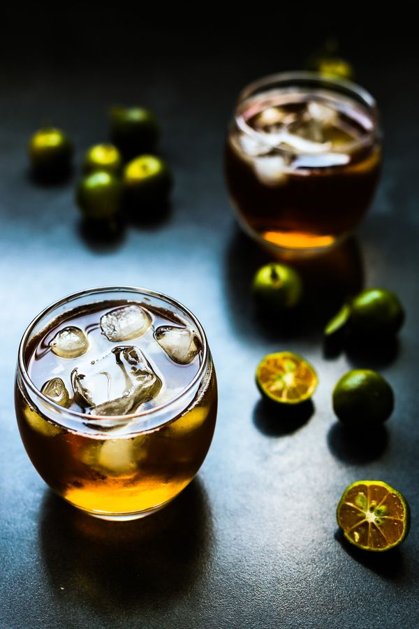 Calamansi Iced Tea