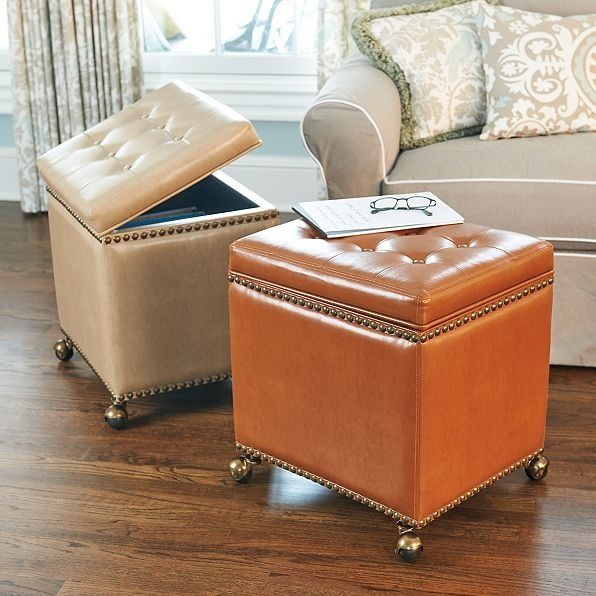 Add style to your home office with an attractive ottoman filing cabinet. Its comfy, convenient, and generously sized for both letter and legal files.