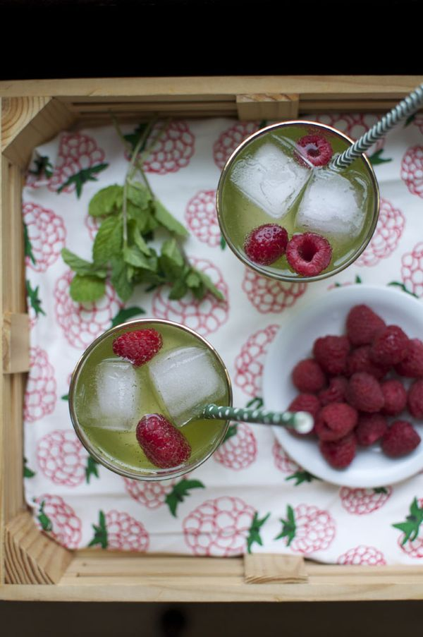 Kid-Friendly Drink for St. Patrick's Day: Ginger Mint Cooler | ¡HOLA! JALAPEÑO