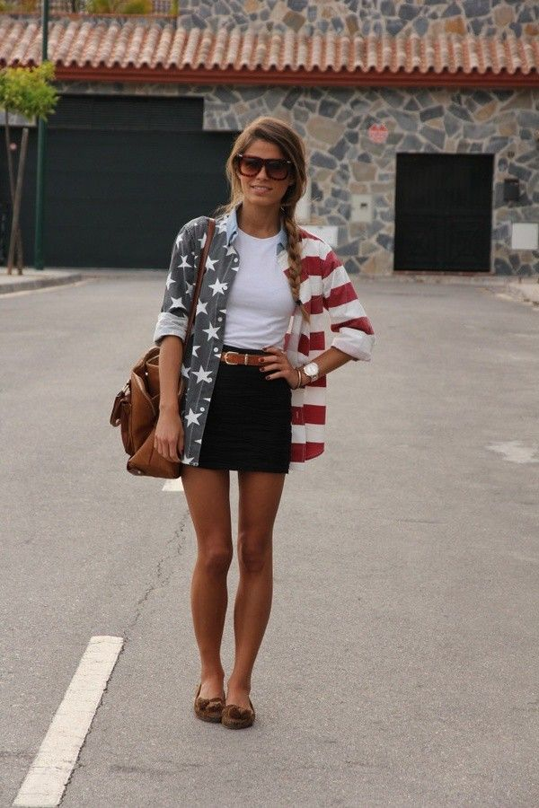 10 Awesome Fourth of July Outfits | Lovelyish