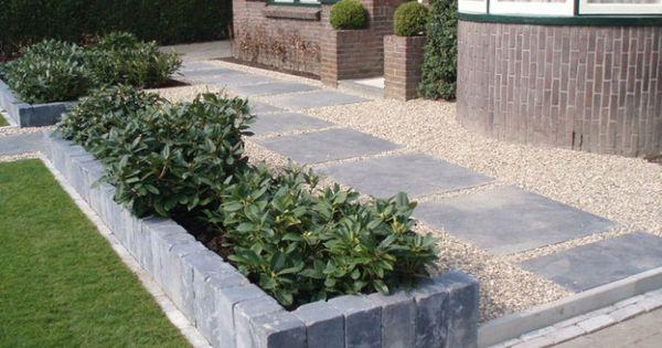 Tuin en stenen rand tuin pinterest stenen rand stenen en tuin - Decoratie stenen tuin ...