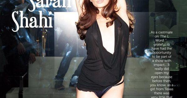 bikini girls sarah shahi in underwear for esquire me in my place