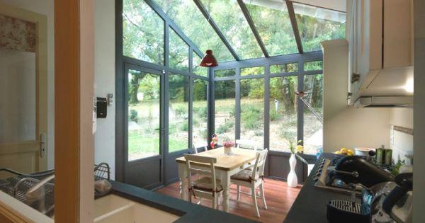 Petits espaces une v randa toute mignonne pour abriter une petite cuisine - Toute petite cuisine 2m2 ...