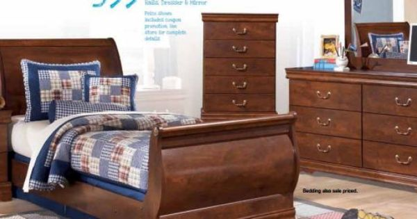 Wilmington twin sleigh bedroom set ikidz rooms pinterest for Furniture 123 moline