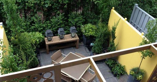 ... dans l'arrière-cour–idées modernes  Patio, Deco and Design